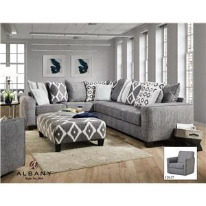 Albany 464 Two Piece Sectional