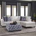 Albany 0470 Sectional Sofa - Item Number: 0470-2PC-GENS-19592