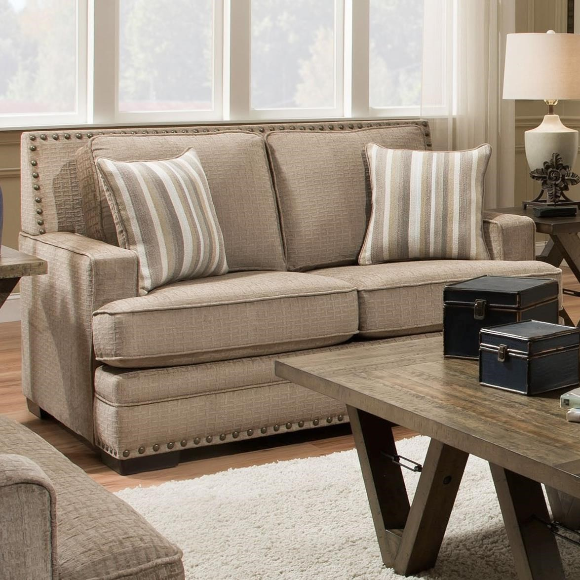 Albany 488 Loveseat - Item Number: 0488-10-GENS-22528
