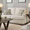 Albany 488 Loveseat - Item Number: 0488-10-GENS-Cream