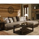 Albany 0689 2 Piece Sectional - Item Number: 0689-2PC-RMSS-31514