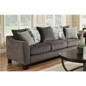 Three Seat Sofa - Slate