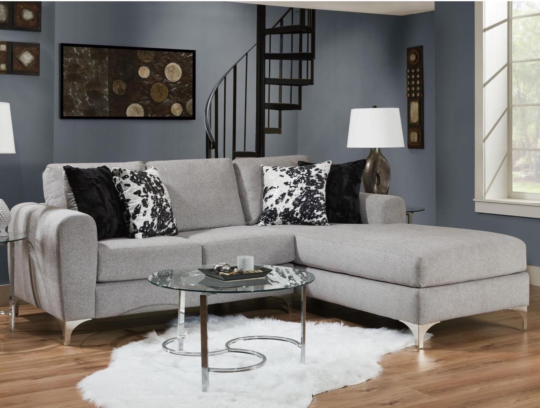 0776 2 Piece Sectional by Albany at A1 Furniture & Mattress