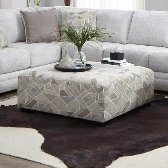 0969 Cocktail Ottoman by Albany at A1 Furniture & Mattress