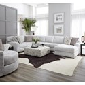 Albany 0969 Sectional Sofa - Item Number: 969-3PC-GENS-34482