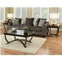 Albany Arden 3 Pack Occasional Tables - Item Number: 1001SET-EBONY