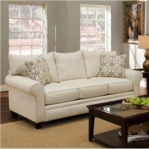 Albany 216 Transitional Stationary Sofa