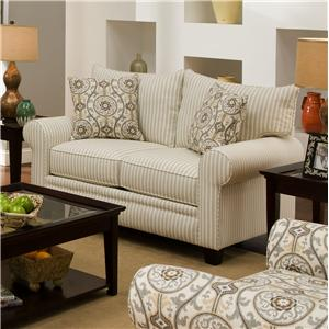 Albany 216 Transitional Loveseat