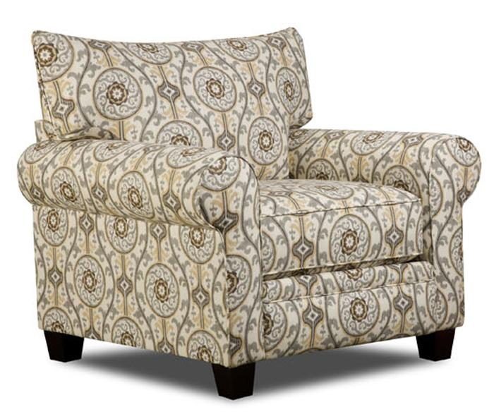 Albany 216 Transitional Chair - Item Number: 216-30-SuzannahMetal
