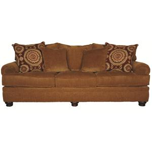 Morris Home Furnishings Wyatt Upholstery Wyatt Sofa