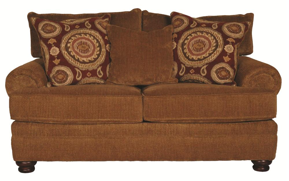 Morris Home Furnishings Wyatt Upholstery Wyatt Loveseat - Item Number: 104231624