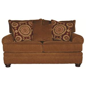 Morris Home Furnishings Wyatt Upholstery Wyatt Loveseat
