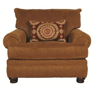 Morris Home Furnishings Wyatt Upholstery Wyatt Chair