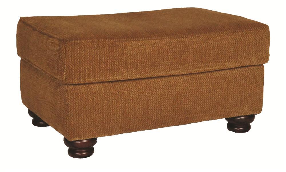 Morris Home Furnishings Wyatt Upholstery Wyatt Ottoman - Item Number: 116231628