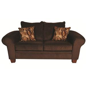 Morris Home Furnishings Matthew Matthew Loveseat