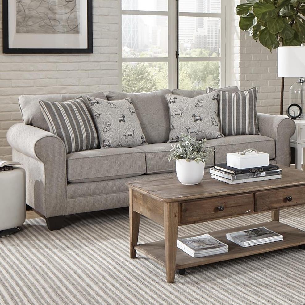2214 Sofa by Albany at A1 Furniture & Mattress