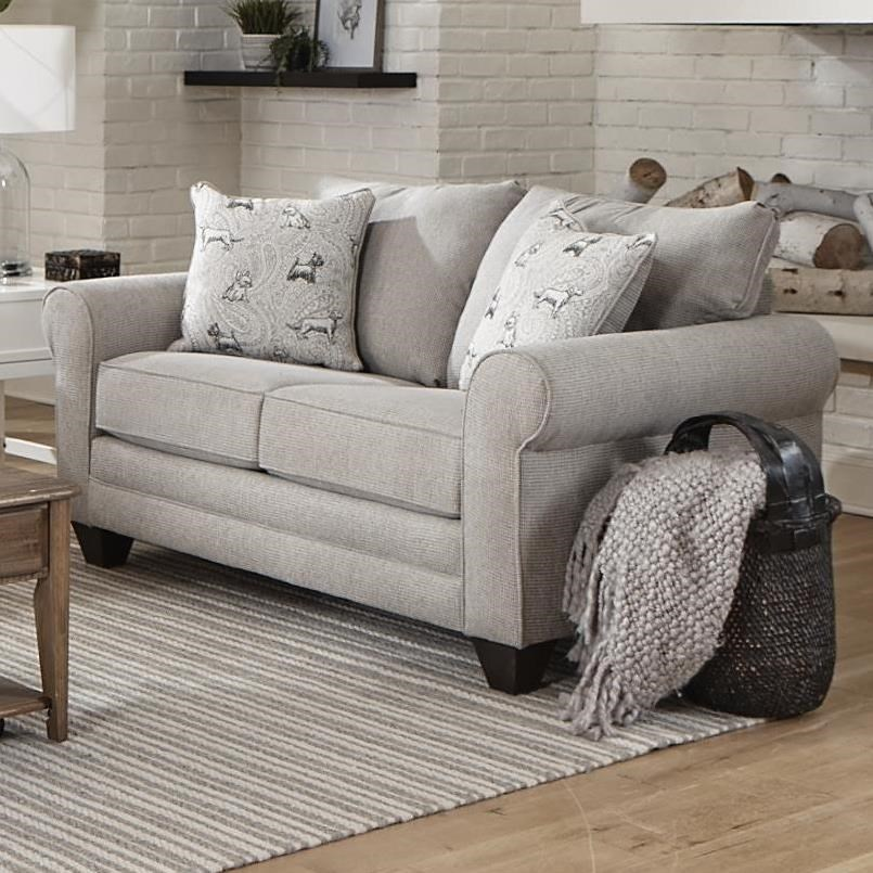 2214 Loveseat by Albany at A1 Furniture & Mattress