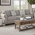 Albany 2214 Queen Sleeper Sofa - Item Number: 2214-40-GENS-16082