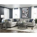 Albany 2251 2 PC Sectional Sofa - Item Number: 2251-2PC-GENS-12512