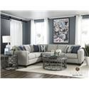 Albany 2251 Two Piece Sleeper Sectional - Item Number: 2251sectslpr