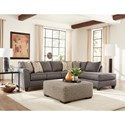Albany 2256 Sectional with Chaise - Item Number: 2256-2 PC