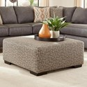 Albany 2256 Square Cocktail Ottoman - Item Number: 2256-37-GENS-79544