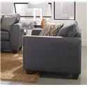 Albany 2256 Upholstered Chair - Item Number: 2256GraphChair