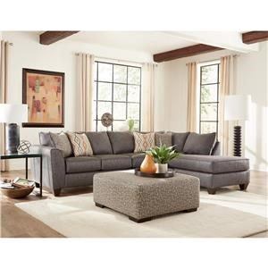 Two Piece Sleeper Sectional