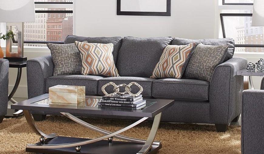 Three Seat Sofa - Graphite