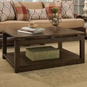 Albany 237 Coffee Table - Item Number: 237COF-WALNUT