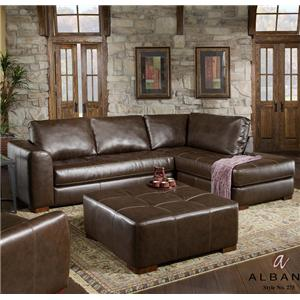 Albany 275 Sectional Sofa with Chaise