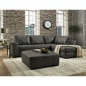 Albany 276 Chaise Sectional Sofa - Item Number: 0276-2PC-GENS-24892