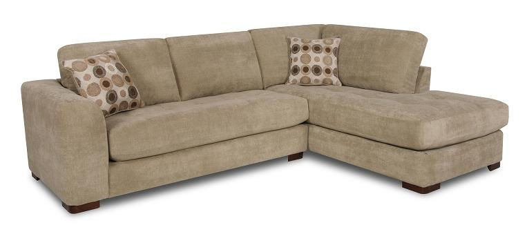 Albany 277 Sectional Sofa - Item Number: 277-67+61