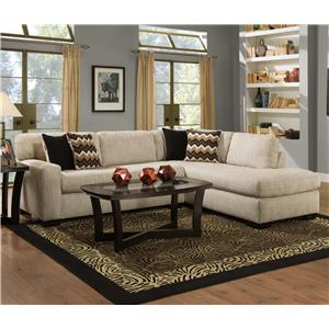Albany 352 Sectional Sofa