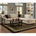 Albany 352 Sectional Sofa - Item Number: 0352-67+61-30615