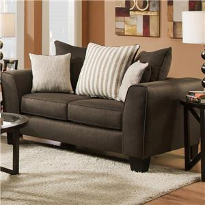 Albany 356 Collection Contemporary Love Seat