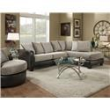 Albany 360 Two Piece sectional - Item Number: 360-67