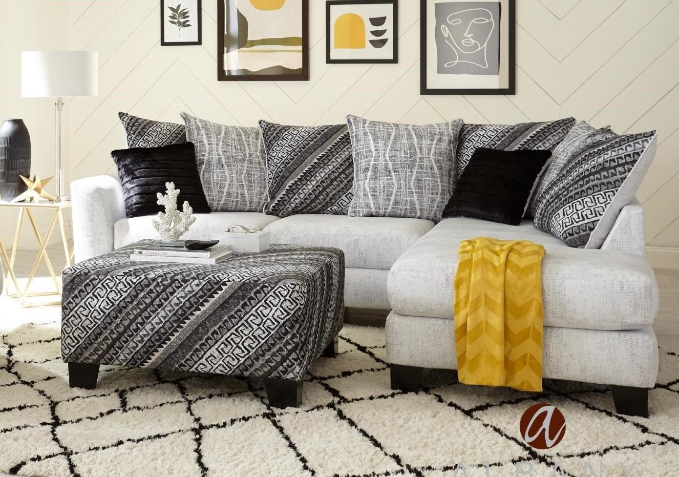 370 Berber Cream TWO PIECE SECTIONAL by Albany at Furniture Fair - North Carolina