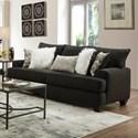 Albany 428 Queen Sleeper Sofa - Item Number: 0428-40-GENS-17297