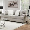 Albany 428 Full Sleeper Sofa - Item Number: 0428-45-GENS-17292