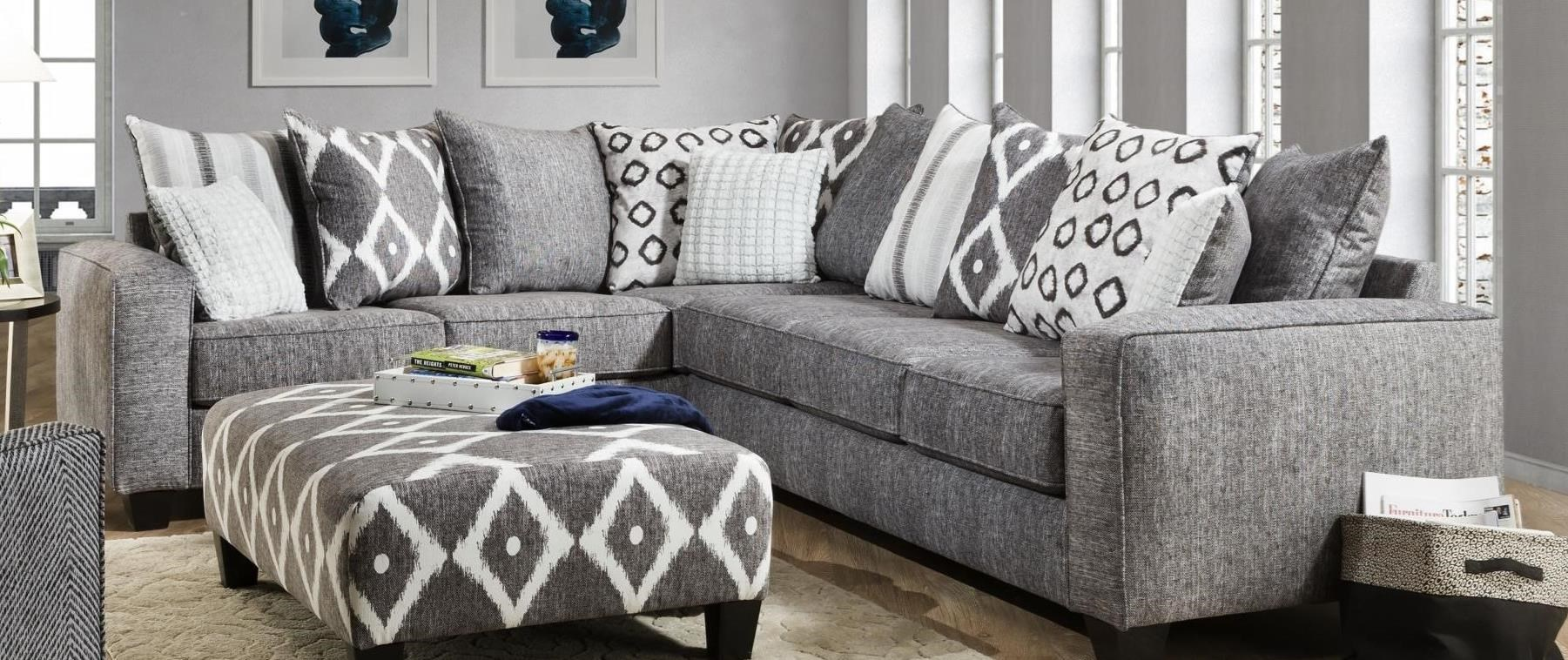 464 Sectional Sofa by Albany at A1 Furniture & Mattress
