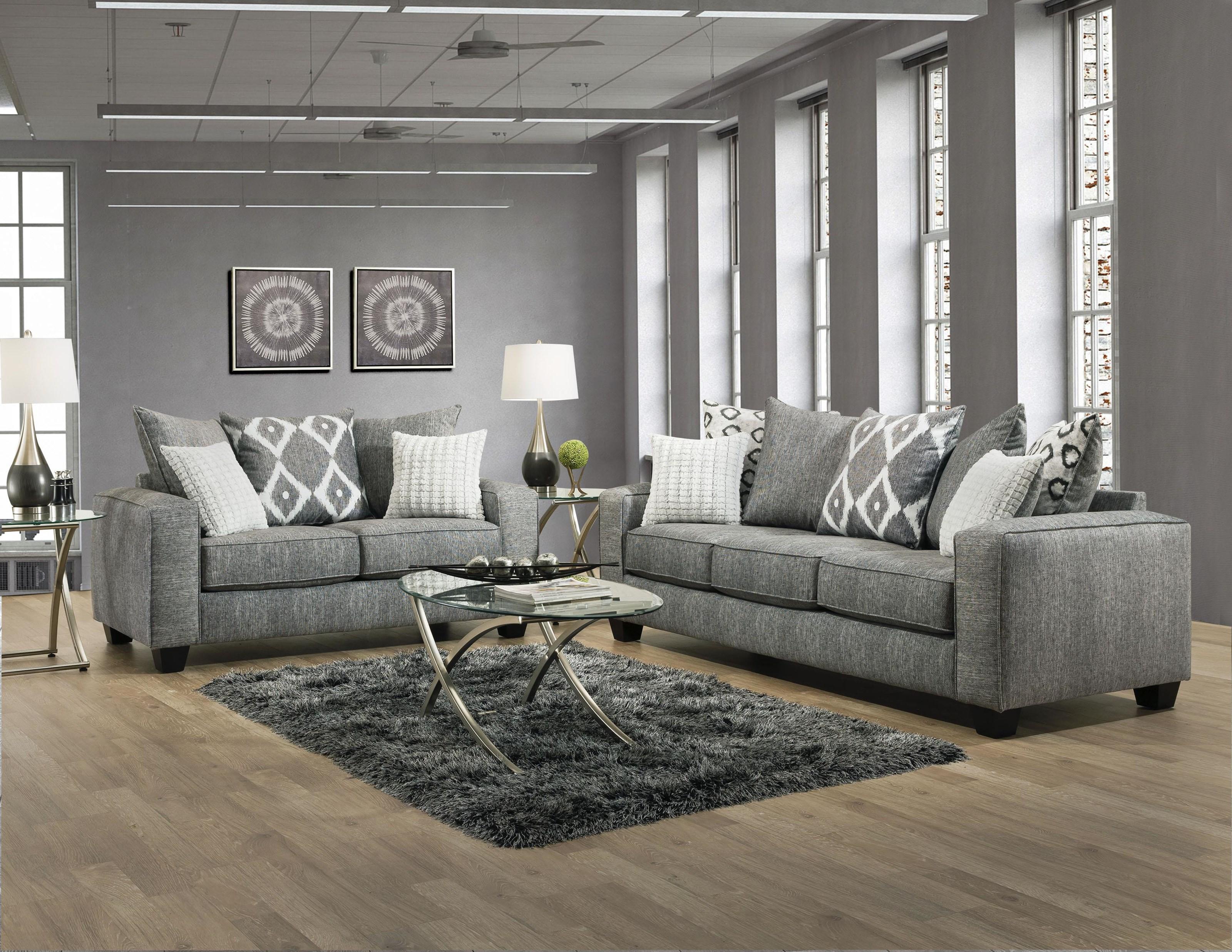 4 Piece Living Room Set