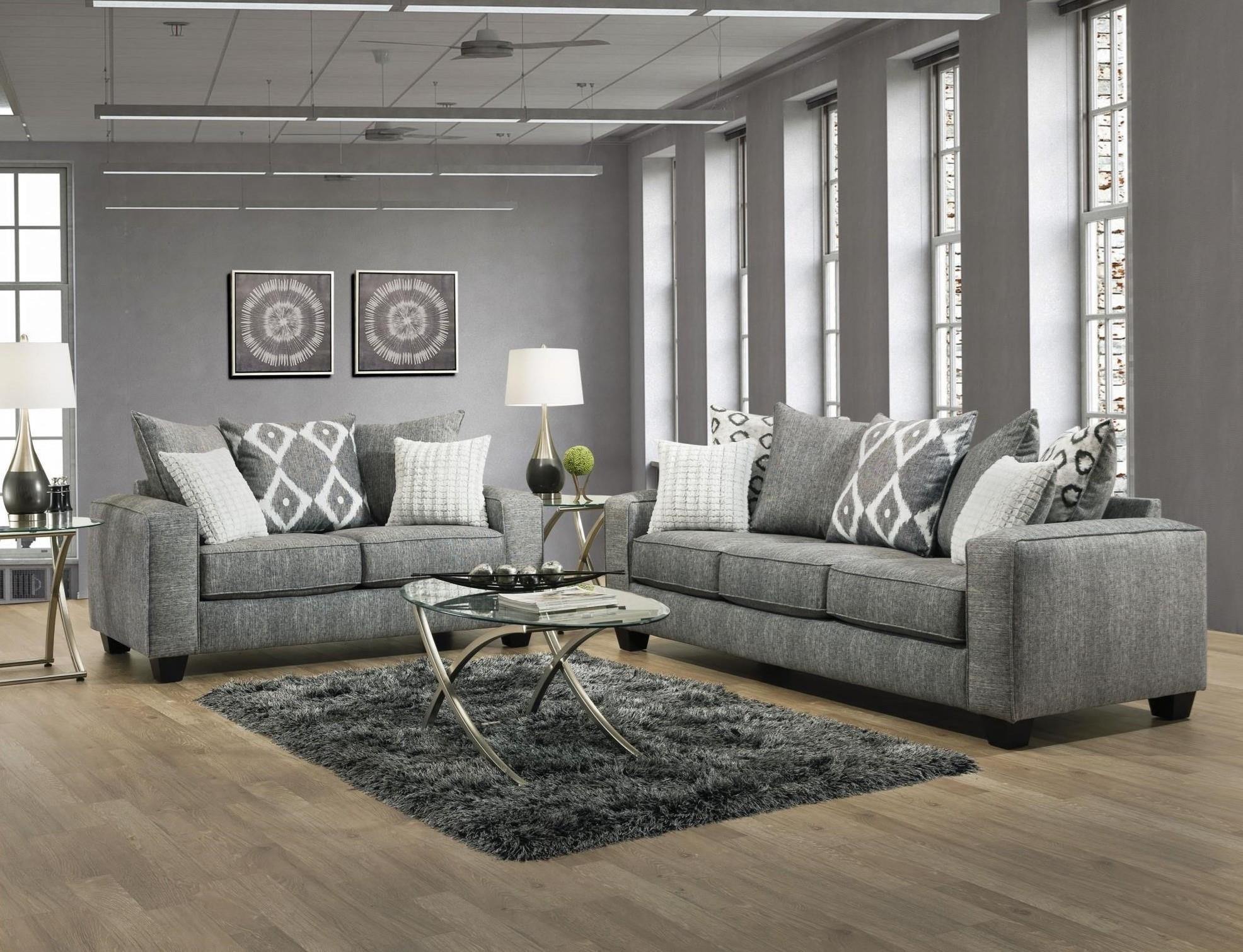 Stonewash Sofa & Loveseat