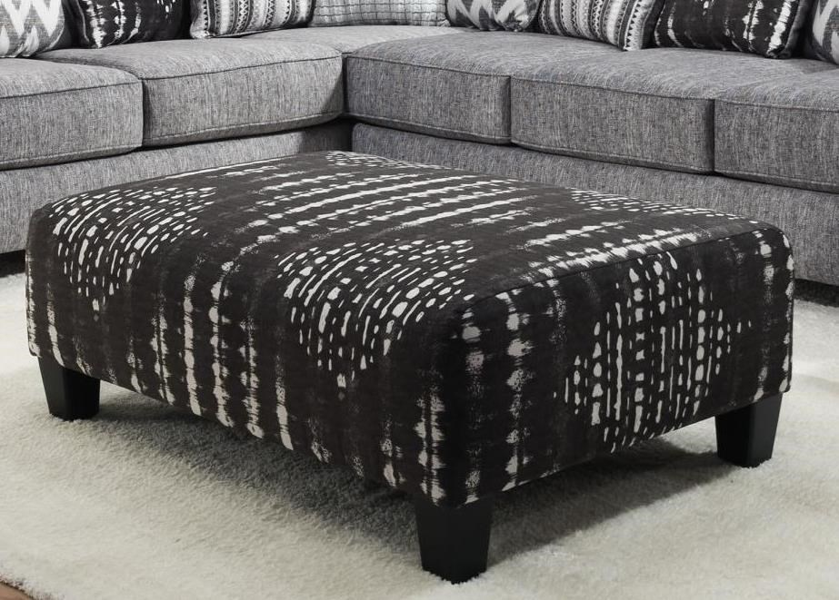 484 Cocktail Ottoman by Albany at A1 Furniture & Mattress