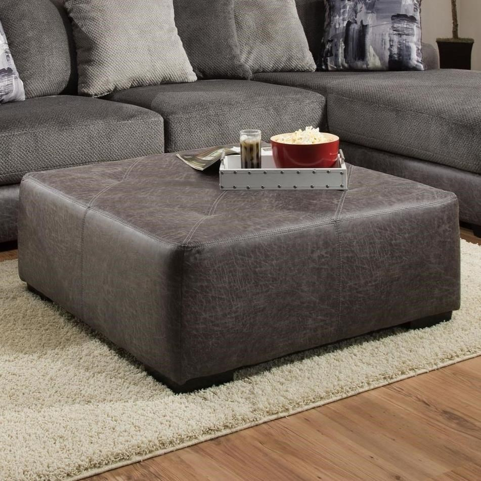 682 Cocktail Ottoman by Albany at A1 Furniture & Mattress