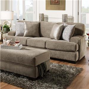 Albany Fusion Platinum Sofa