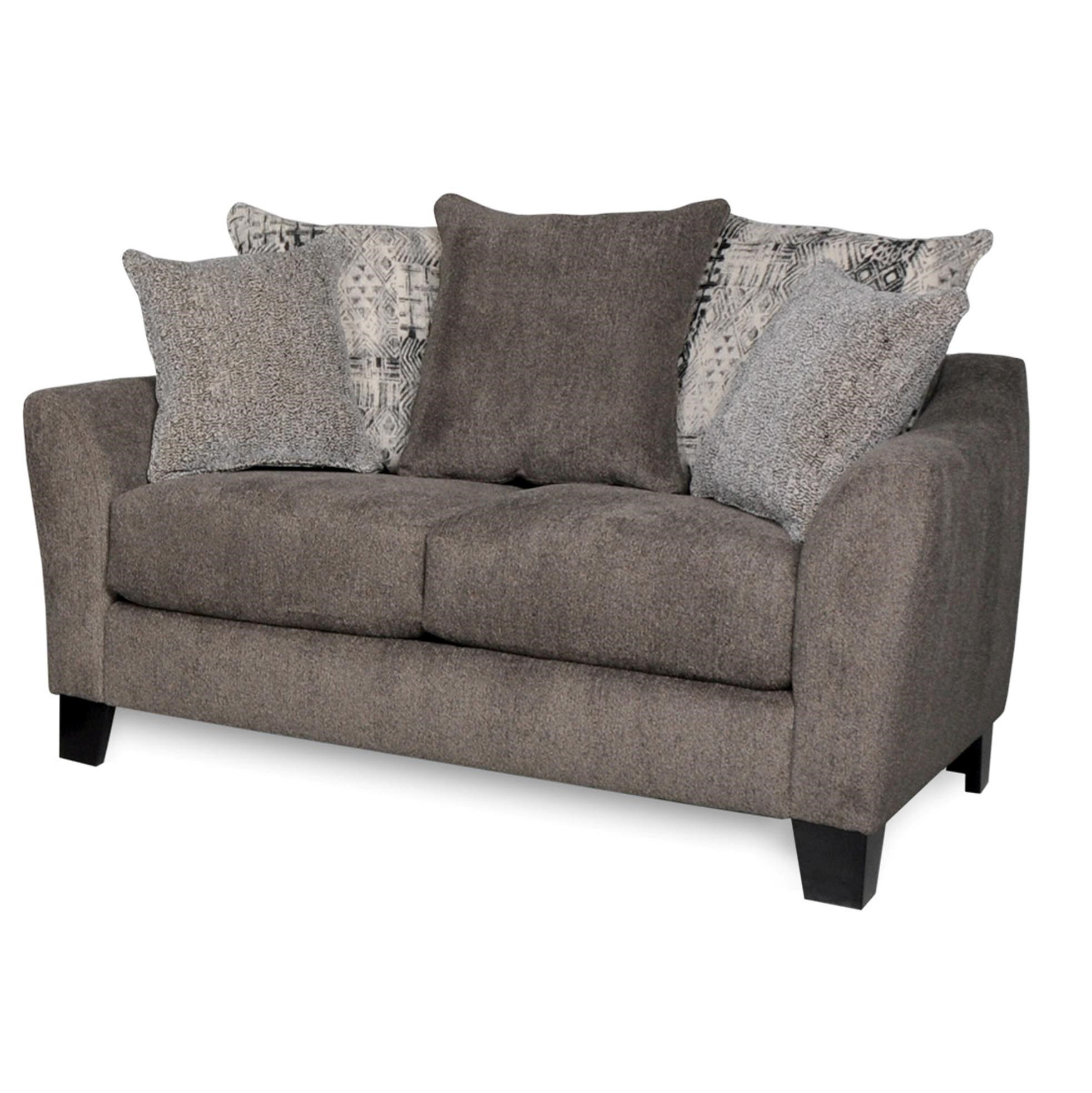 Albany 759CP Cornell Pewter Loveseat - Item Number: 759L