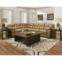 Albany 781 2 PC Sectional Sofa - Item Number: 0781-2PC-GENS-37516