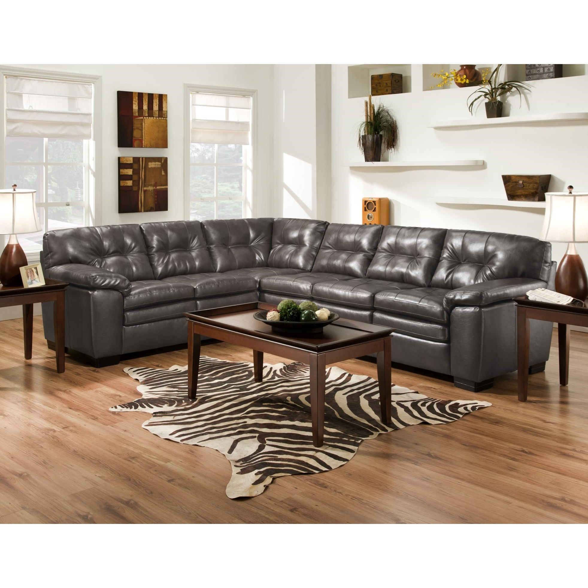 782 2 Pc Sectional Sofa by Albany at A1 Furniture & Mattress