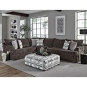 Albany 8620 Sectional Sofa - Item Number: 8620-2PC-GENS-17298
